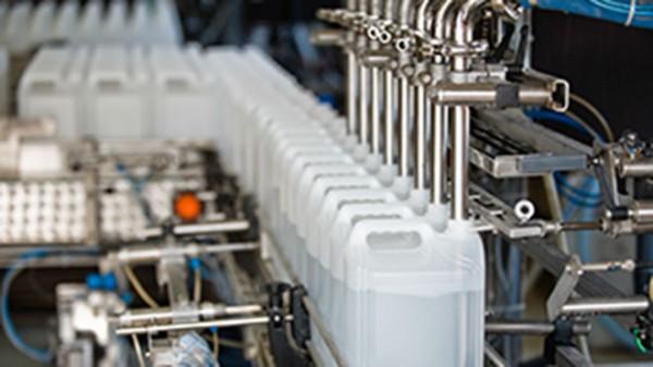 Destilliertes Wasser 208 L Faß