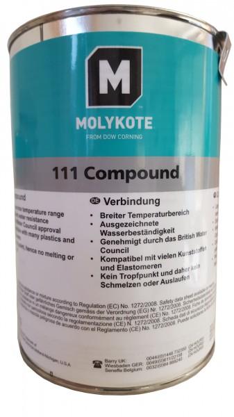Molykote 111 COMPOUND in 1 kg/Dose Ventil- Schmier- und Dichtmittel