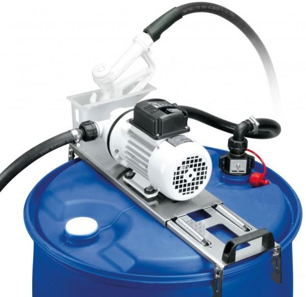 AdBlue Betankungsset DRUM 230 Volt Membranpumpe und manueller Kst.-Zapfp.