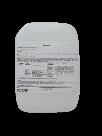Isopropanol Desinfektionsmittel kosm. 70 im 8,5 KG/Kanister