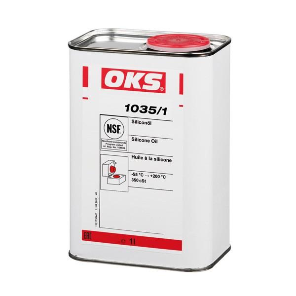 OKS 1035/1 - Silikonöl für Elastomere und Kunststoffe 1 L VE=10