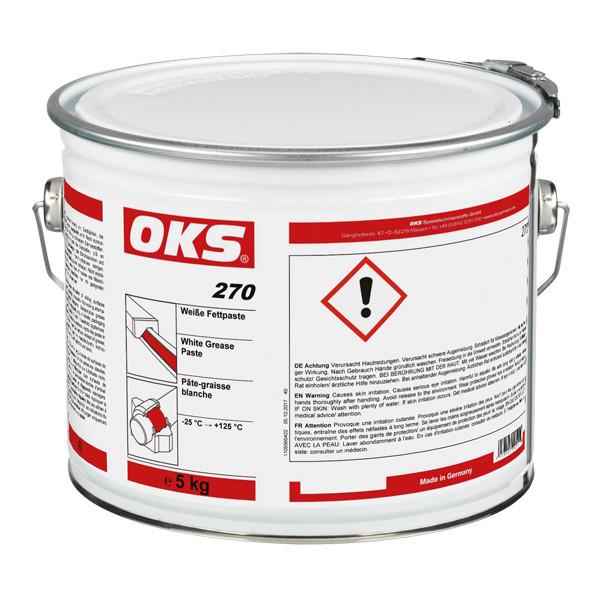 OKS 270 Weiße Fettpaste - 5 kg Hobbock