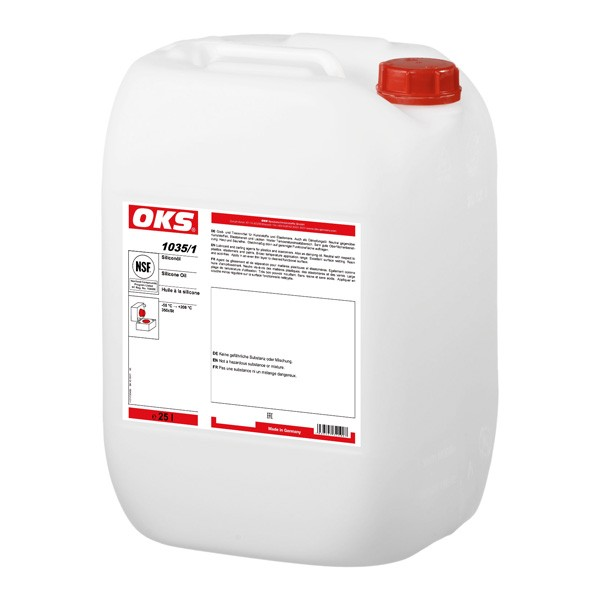 OKS 1035/1 - Silikonöl für Elastomere und Kunststoffe 25 L