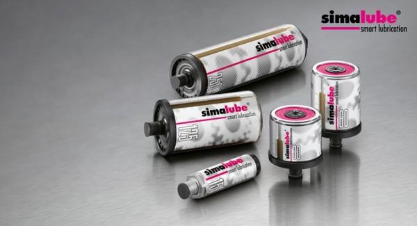 Simalube 250 ml leer zum Selberbefüllen mit Fett und Antriebskopf - SL00 250