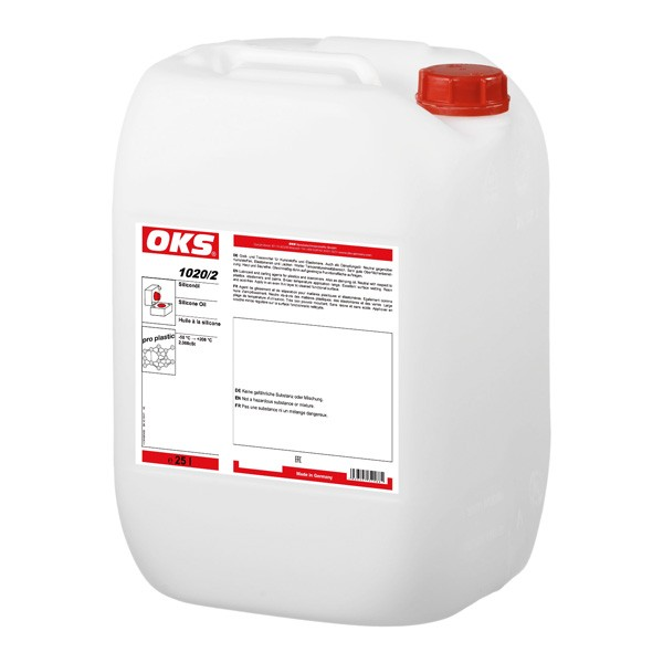 OKS 1020/2 - Silikonöl für Kunststoffe und Elastomere - 25 L Kanister