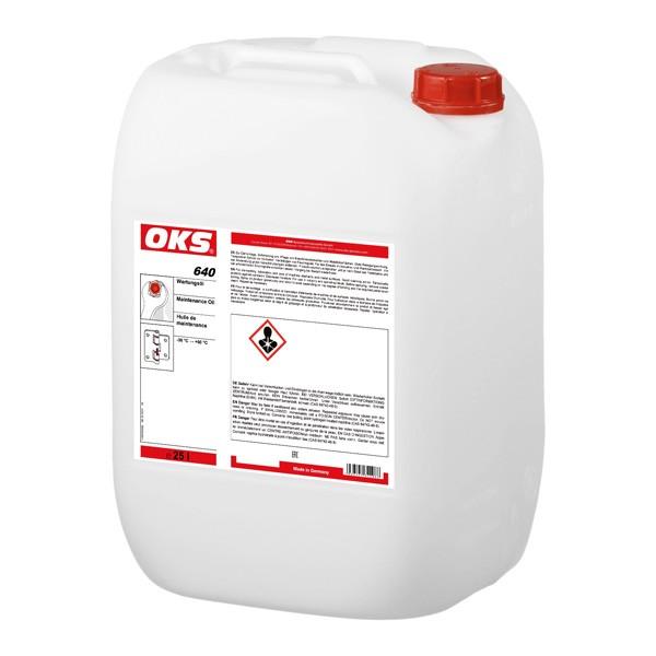 OKS 640 Wartungsöl im 25 L/Kanister