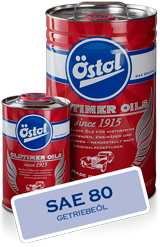 OEST Östol Getriebeöl Oil SAE 80 IN 200L