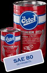 OEST Östol Getriebeö SAE 80 IN 4 x 5L