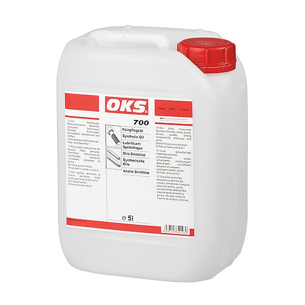 OKS 700 Feinpflegeöl im 5 L/Kanister