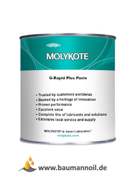 Molykote G-RAPID PLUS - 1 kg Dose