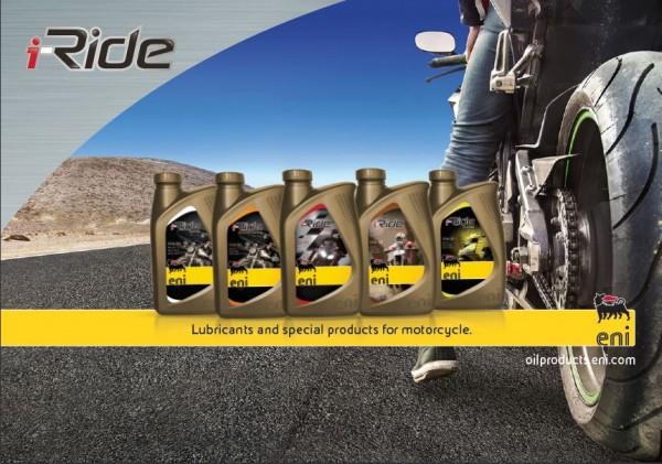 Eni i-Ride Racing 5W-40 - 1 l Flasche