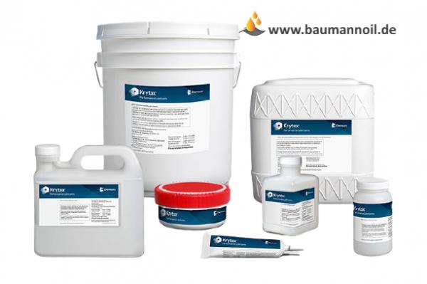 Krytox GPL 207 - nicht brennbarer Schmierstoff - 8 oz 227 gr Tube