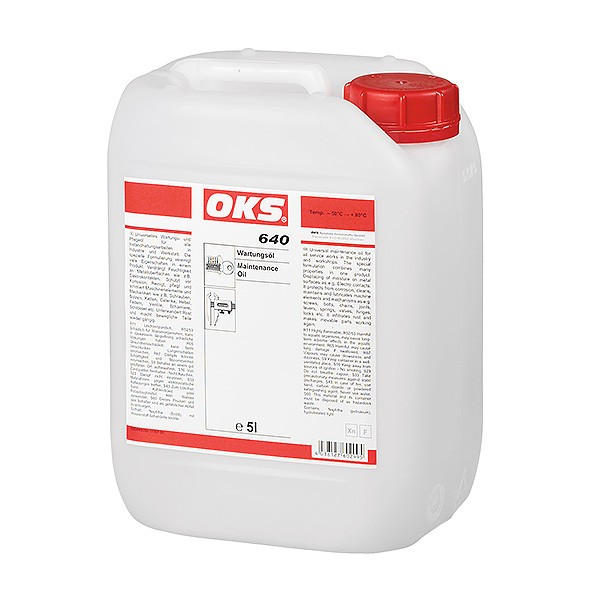 OKS 640 Wartungsöl im 5 L/Kanister
