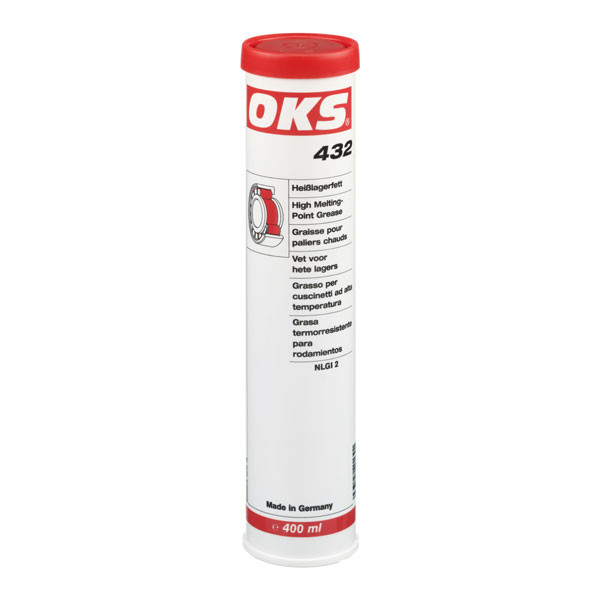 OKS 432 Heißlagerfett in 400 ML/Kartusche