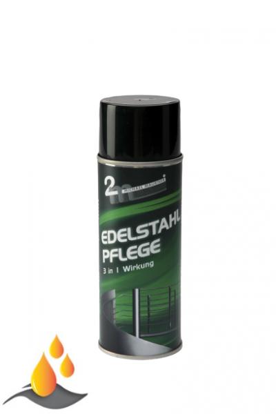 Maukner Edelstahlpflege Spray in 400 ml/Dose
