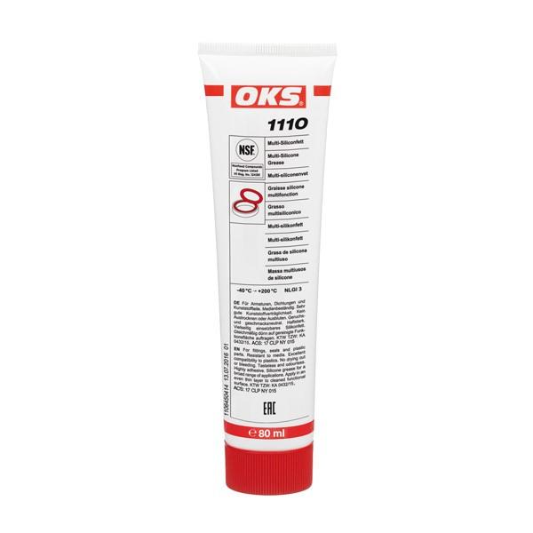 OKS 1110 Multi-Siliconfett für Armaturen und Dichtungen 80 ml VE = 10