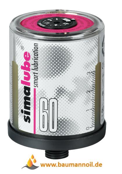 Simalube 60 ml mit Hochleistungsfett - SL25 60