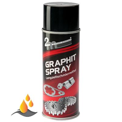 Maukner Graphit-Spray trocken - 400 ml Dose