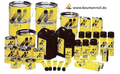 Molyduval Soraja BA 1 TLV - 1 kg Dose Weißes Lebensmittelfett
