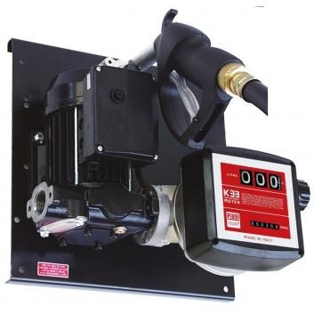 E 56-BS/Z Betankungsset mit Zählwerk K33 auf Platte montiert für Diesel-Biodiesel