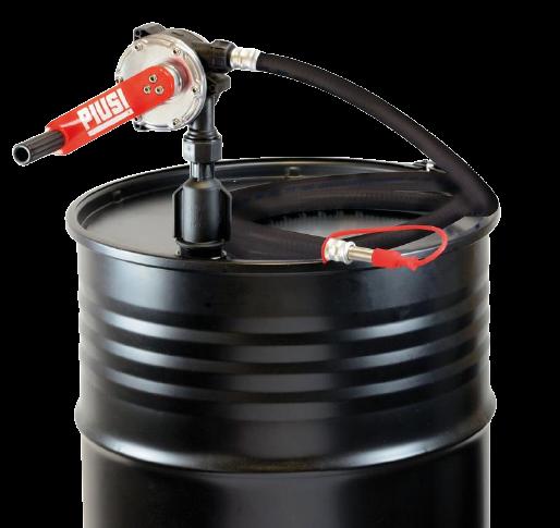 Handkurbelpumpe für Öle und Diesel m. Ansaugrohr und 3 m Abfüllschlauch